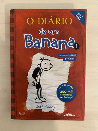 Jeff Kinney - Diário de um Banana 1 - Booksmile