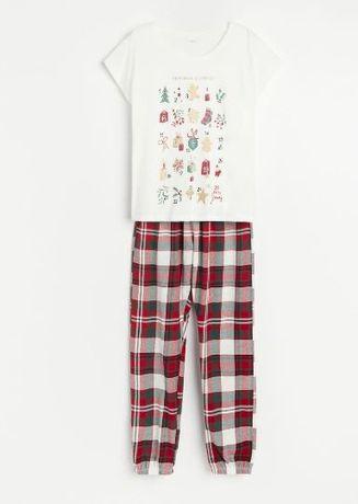 Пижама женская, комплект, большой размер