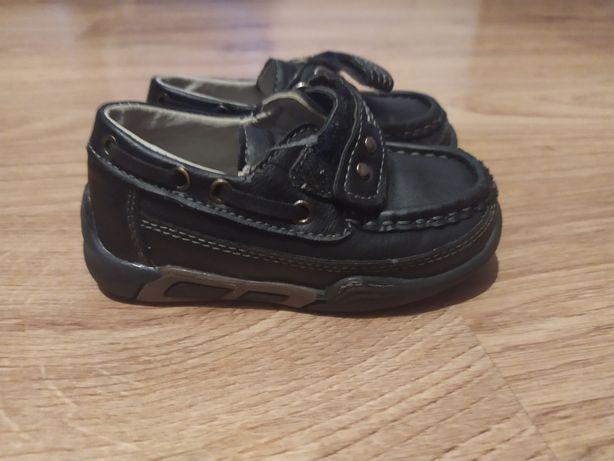 Mokasyny,buty buciki chłopięce do garnituru rozmiar 22