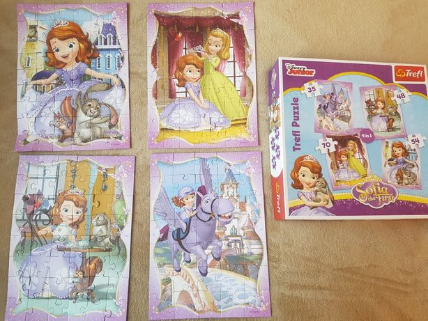 Puzzle księżniczka Zosia 4+