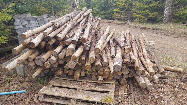 Słupki ogrodzeniowe,stemple budowlane,steple 2,5 m