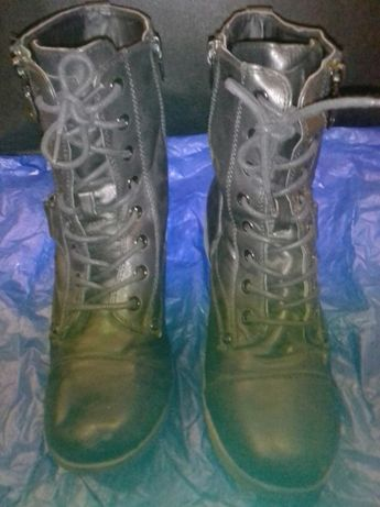 Обувь кожаная черная обув шкіряна чорна размер 37