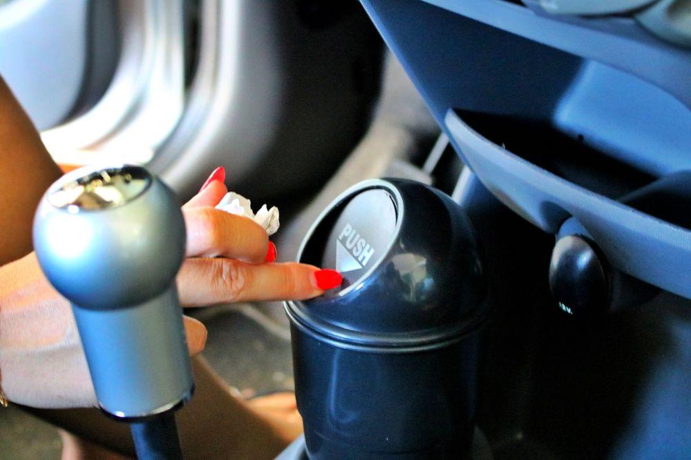 (SUPER PROMOÇÃO) Caixa do Lixo para Carro / Automóvel (NOVO) Cidade Da Maia - imagem 1