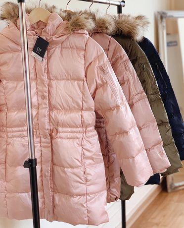 Пуховик куртка Gap пух/перо 4 цвета зима