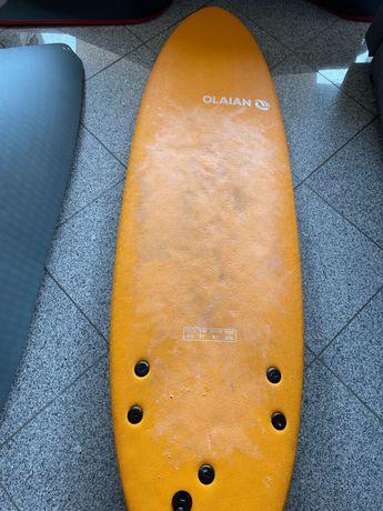 Prancha de Surf Olaian 6 laranja