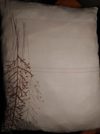 Zestaw beżowej pościeli Home&You 220x200, 2 poszewki na poduszki IKEA