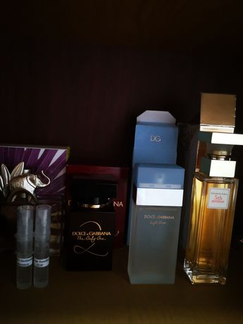 Trussardi Donna 7ml, D&G The Only One, Molecule escentric 2, Amethyst