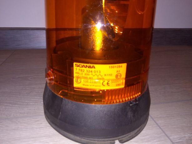 Lampa ostrzegawcza 24v Scania Bosch.