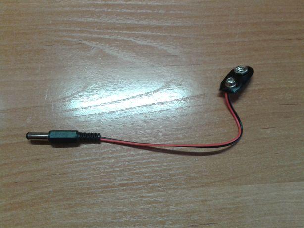 Адаптер питания Крона - 5.5 мм коннектор, для Arduino (самоделка)