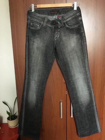 spodnie proste jeansy guess premium