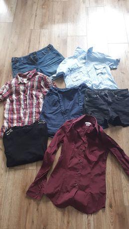Paczka ubrań w rozmiarze 36-38