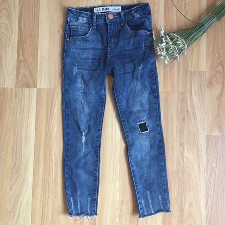 Фирменные джинсы denim co малышке 5-6 лет ( next zara) скини джинси