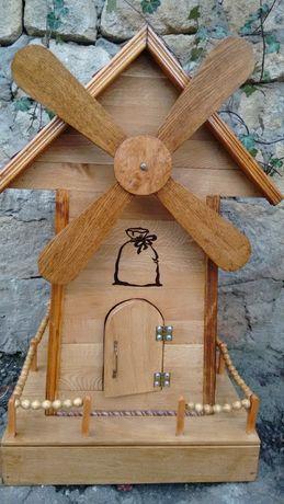 Вітряк мельниця декоративна
