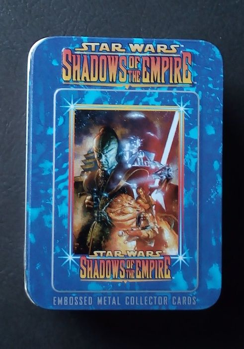 star wars shadows of the empire embosseb metal collector cartas Barreiro E Lavradio - imagem 1