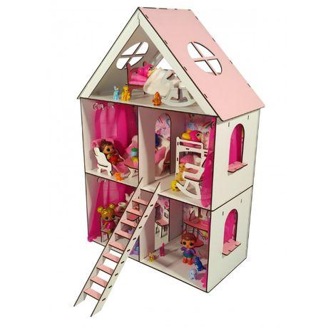 Кукольный домик Дом для кукол до 20см LOL Лол Анабель Барби
