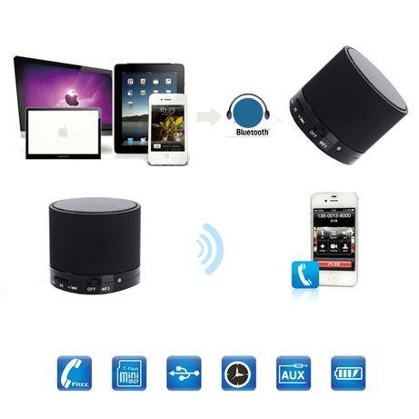 Z224 Coluna Portátil Bluetooth c/ Microfone e Slot Micro SD