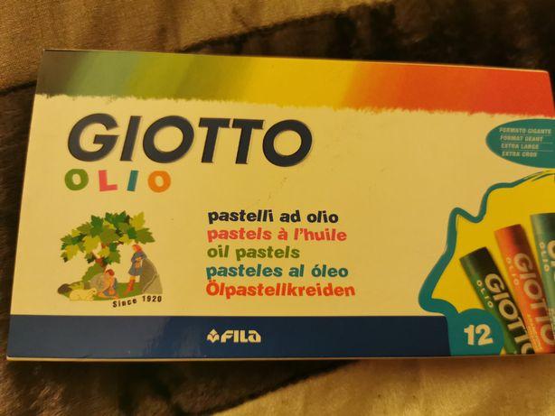 Vendem-se lápis de pastel a óleo Giotto, novos