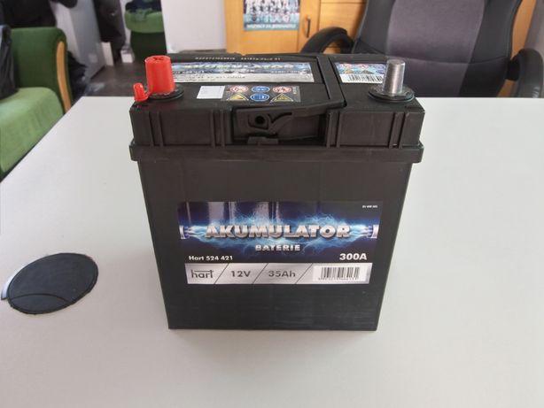Akumulator Samochodowy 35AH 300A 12v NOWY Gwarancja Matiz Tico Spark