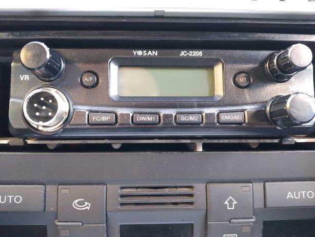 CB Radio YOSAN JC-2205 +antena president Zamiana na radio samochodowe