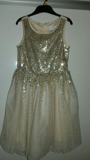 Sukienka dziewczęca rozm. 116-122 suknia balowa strój karnawał