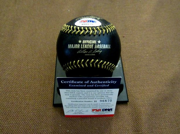 Piłka baseball oryginalny autograf CC Sabathia certyfikat PSA/DNA