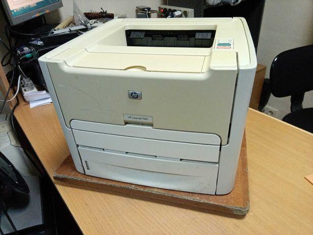 Лазерный принтер HP LaserJet 1160, рабочий и заправлен