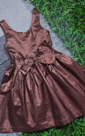 Красивое нарядное платье Next 10 лет