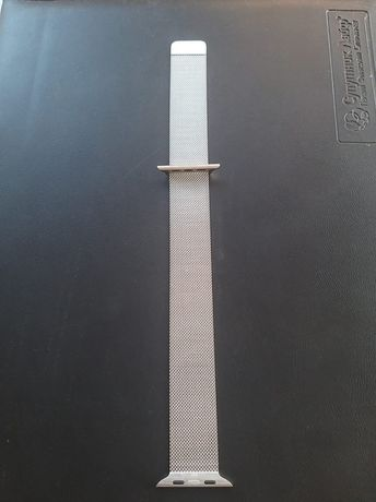 Ремешок Apple Milanese Loop (Silver) MTU62 для Apple Watch 44mm