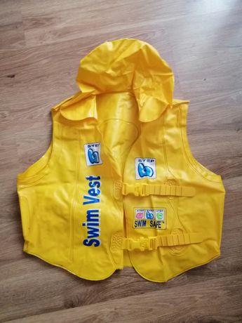 Детский надувной жилет для плавания 3-6 лет.