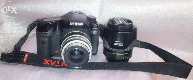 фотокамера Pentax K20d + ...