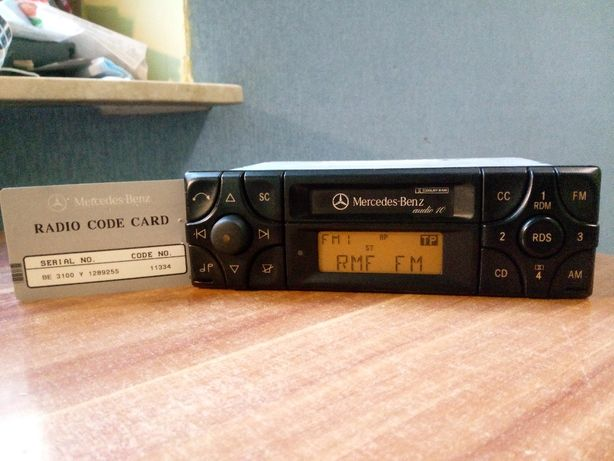 Radio Mercedes Becker be3100 rds do w124 w201 190