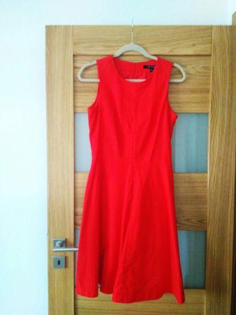 Czerwona sukienka Top Secret, rozmiar 38
