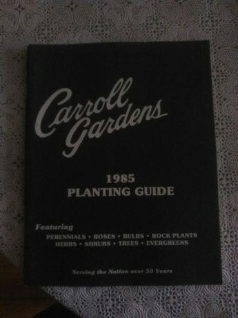 Carroll Gardens planting guide 1985