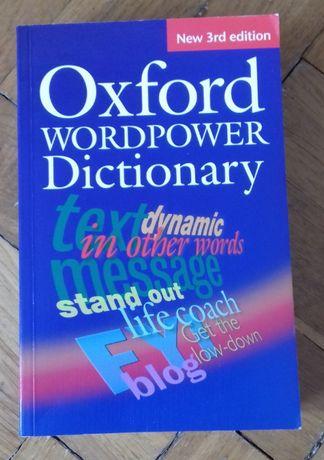 Oxford Worpower Dictionary - świetny słownik j. angielskiego