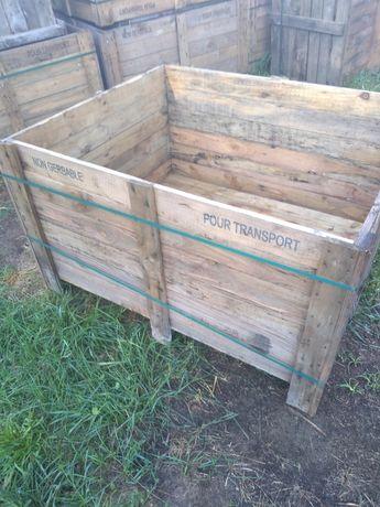 skrzyniopalety drewniane 120x100x65