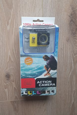 Action camera Full HD 1080p nowa kamera sportowa