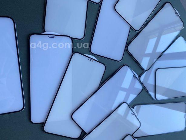 Защитное стекло 3D/3Д для iPhone 12/ 12 Pro/12 Mini/12 Pro Max
