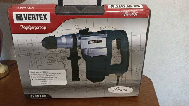 Продам перфоратор ''VERTEX''VR-1407