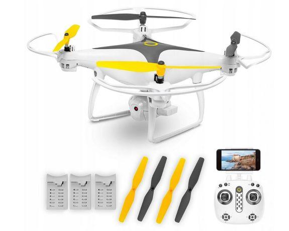 Duży Dron OVERMAX X Bee Drone 3.3 WiFi Kamera FPV Quadrocopter Pilot