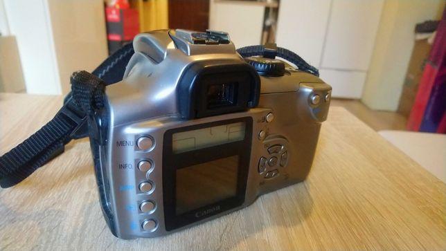 Canon EOS 300D Rebel +Obektyw 18-55 f/3.5-5.6