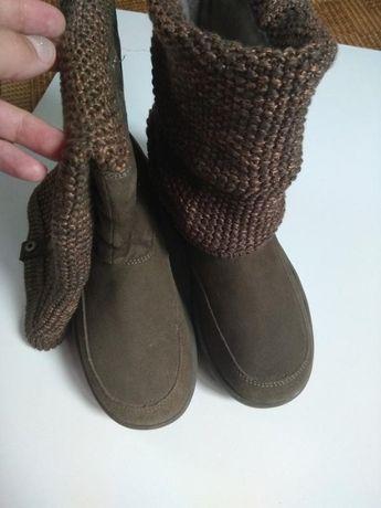 Сапоги ботинки деми tone ups от skechers fitness group 36р/23,5см