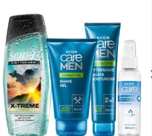 Zestaw kosmetyków dla mężczyzn