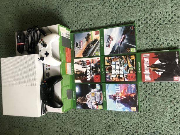 Xbox one s dwa pady !!mega zestaw!!
