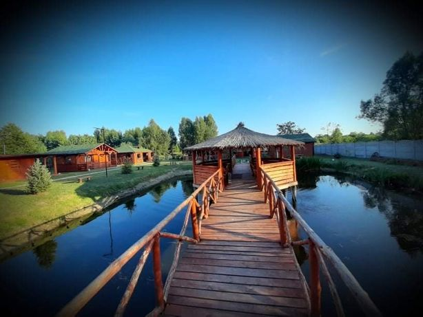 Całoroczne domki letniskowe dla pracowników firm. Sauna,basen, Wi-Fi