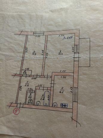 Продам 2 комнатную квартиру в пгт Краснопавловка