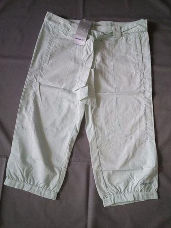 Spodnie damskie 3/4 nowe Reebok