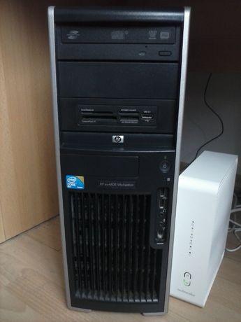 Komputer HP xw4600 Core 2 Duo E8400 RAM 4 gb Win7