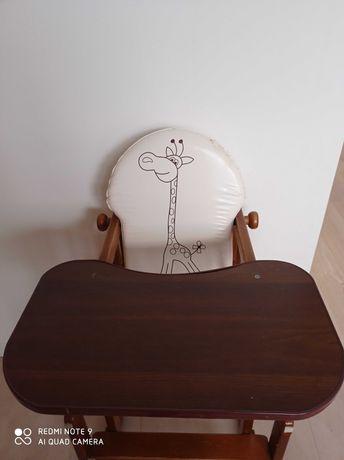 Krzeselko do karmienia dziecka