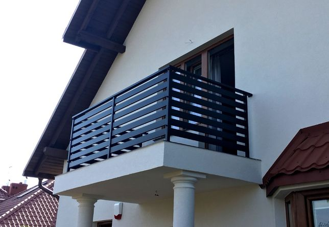 Balustrada balkonowa nowoczesna balkon nowoczesny