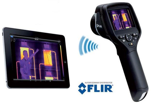 Kamera Termowizyjna Infrared Flir e60bx + Extech Meterlink M0297